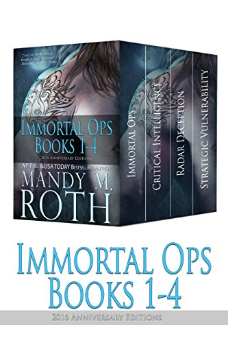 Immortal Ops Books 1-4: 2016 Anniversary Editions